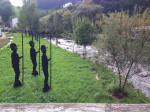 Floesserstatuen bei Wolfach im Kinzigtal